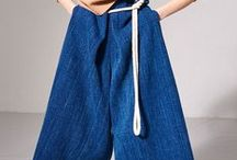 TREND ALERT 4: CULOTTES / Directional trouser shape in midi to ankle lengths