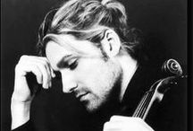 Hello handsome: David Garrett / Pics with one of the most talented and cute world violinists