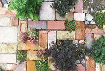 Garden fun / Ideas for a funky cool garden