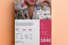 for creatives / bloggers, social media influences + artists / Tools & resources for pitching to brands and clients in a professional yet modern and breathtaking way! Downloadable media kits and rate / price sheets that can be customized using Microsoft Office! No fancy design programs needed!