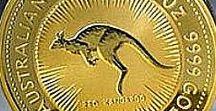 Australian Gold Kangaroo (Nugget) Bullion Coins
