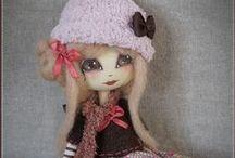 ♥ Dolls : my work ♥ / Les poupées que je réalise.
