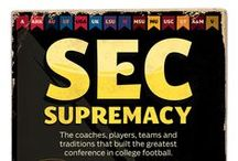 SEC Domination  / Southeastern Conference - Daughter is an Auburn grad and in UT post-grad Vet School / by Pam Parnell