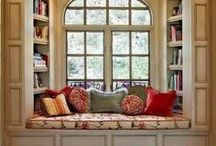 For the love of reading / reading nooks / For the love of reading... reading nooks and bookshelf ideas.