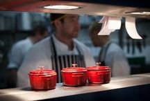 Behind-The-Scenes / Check out these behind-the-scenes pictures form Brasserie Hudson Quay - take a peek in the kitchen!