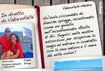 In diretta da Vakarufalhi, Maldive / Vivi la magia delle Maldive con Vittoriano e Cinzia!