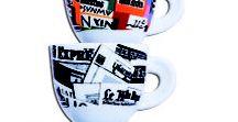 """L'Ora del Giornale / Ecco """"Stampa"""": la speciale collezione di porcellane ispirate alle grafiche dei fogli di giornale...ma con un tocco di colore in più!"""