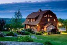 Barn Houses / Barn style houses.