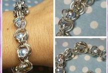 I made this! / My DIY chainmaille, beadwork and furniture decoration projects