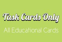 Task Cards Only / This is a group board for all your Task Cards, Flash Cards, Informative Cards, Character Cards, Summary Cards, Process Cards, Formula Cards, Center Cards, Early Finishers, Key Facts Cards, Questions Cards, Trading Cards, Reinforcement Cards, Differentiation, literature cards, novel cards, math cards, terms cards, picture cards. Pin Your Free or paid Cards , and get inspiration from others' pins! To be a pinner , Email at mrs.eglantine@gmail.com - all are welcome!