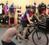 Bike Fit / Proper bike fit can increase efficiency, prevent injury, and help you ride in comfort. Dust off the cobwebs and get that bike of yours fitted.