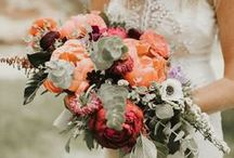 Wedding Bouquets / Tropical wedding bouquet inspiration that will have you swooning.