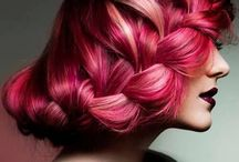 Coiffures / Sélection de différentes coiffures tendances et stylées.