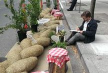 PARKing Day 2014 / My favorite Instagram pics hashtagged #ParkingDay from this year's event.