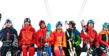 Ski Apparel / Get inspired by a great range of high-end ski apparel brands such as Kjus, Descente and Peak Performance.