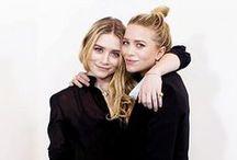 Ashley + Mary Kate Olsen..♡