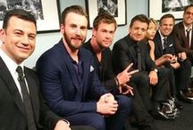 Superheroes & Avengers / I want them to adopt me // God bess the chaos of this cast