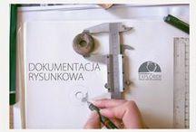 Dokumentacja techniczna - rysunkowa / W skład usług archeologicznych wchodzi wstępna konserwacja oraz opracowanie naukowe materiałów zabytkowych.