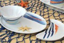 Collezioni Mare | #Mediterranean Style / Decori estivi, a tema sole e luoghi di mare