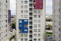 Tres Lagos Santa María / Tres Lagos Santa María es un conjunto de departamentos de 15 y 20 niveles y un bloque de usos múltiples, ubicado al nororiente de la Ciudad de México.