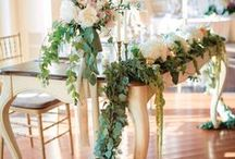 Romantic Wedding Theme / Contact us at weddingsbyfunjet.com to plan your dream destination wedding!