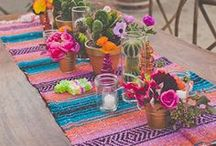 Mexican Wedding Theme / Contact us at weddingsbyfunjet.com to plan your dream destination wedding!