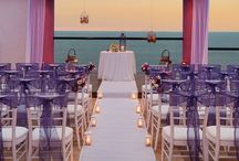 Purple Weddings / Contact us at weddingsbyfunjet.com to plan your dream destination wedding!