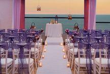 Purple Weddings / Contact us at weddingsbyfunjet.com to plan your dream destination wedding!