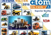 ATOM FILTER #CESKYTRUCKER / Professional manufacturer of filters for construction equipment and heavy trucks