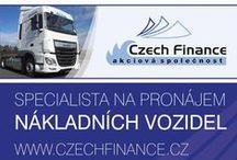 CZECH FINANCE a.s.-specialista na pronájem nákladních vozidel / Specialista na pronájem nákladních vozidel.