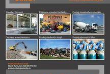 STROJEASTAVBY Tvrdoň, s.r.o. - stavební činnost, prodej a pronájem stavebních strojů / Nabízíme na prodej širokou škálu použitých stavebních strojů a stavební techniky světových značek. Naši zaměstnanci Vám vybraný stavební stroj či stavební techniku rádi představí nebo si jej můžete sami vyzkoušet.  Kontaktní údaje:  Marek Bureš  tel.: +420 605 775 802 fax.: +420 581 694 044 bures@strojeastavby.cz