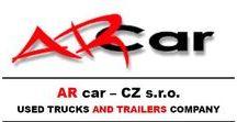 AR car - CZ s.r.o. - used trucks and trailers company #ceskytrucker / Vítejte na stránkách společnosti AR car - CZ s.r.o.. Prodejem, výkupem a pronájmem nákladních vozidel se zabýváme již více než 10 let. Za tuto dobu jsme si vybudovali stabilní pozici na českém i evropském trhu s ojetými tahači, návěsy, stavební technikou a dalšími typy vozidel.