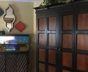 Family Room / By Rose's Drapery Designs  www.rosesdraperydesigns.com