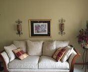 Living Room / By Rose's Drapery Designs  www.rosesdraperydesigns.com