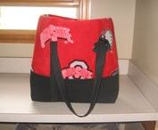 Tote Bags / By Rose's Drapery Designs