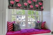Window Seats / By Rose's Drapery Designs