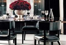Dining Room Style / Elegant, cozy, whatever your style, so many amazingly beautiful dining rooms to enjoy!