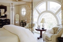 Bedrooms / Beautiful bedrooms, bedding and heavenly beds. / by Melissa Mitchell