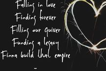 Happily Ever After and beyond! / Falling in love  Finding forever  Filling our quiver  Funding a legacy  Finna build that empire