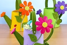 Felt Spring Crafts / Felt crafts for Springing Forward! / by American Felt and Craft