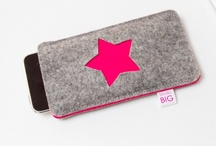 Felt Phone Cases / If you're like us your phone is your life hub. Why not show your navigator, social secretary and primary news source a little love with a #felt phone case?  / by American Felt and Craft