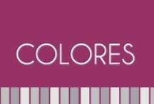 # COMBINACIONES DE COLORES / MEZCLAS DE COLORES