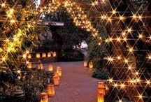 Wedding Lights / Fabulous lighting ideas for your special event / by First Class Weddings