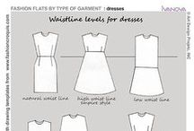 Dressmaking Pattern & Tips / Dressmaking Patterns and tips to keep to hand..