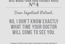 Nurse Stuff / by Kirstin Stallings