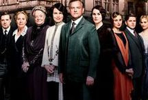 Downton Abbey /  British period drama television series created by Julian Fellowes and co-produced by Carnival Films and Masterpiece Theater shown on PBS.