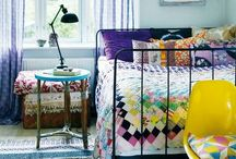 Bedrooms / by Rebekah Wales