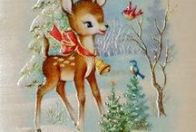 Vintage Christmas Holiday / Vintage Christmas Inspiration, decorating, holiday items, crafts  and ideas for a vintage style Christmas Holiday, lot of old fashioned Vintage illustrations and cards too!