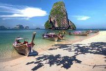 Îles de Thailande / Les îles de Thaïlande , Koh Samui, Koh Phi Phi, Koh Chang, Koh Kood, Koh Maak, Koh Larn
