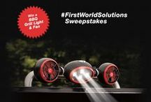 First World Solutions / by Sharper Image
